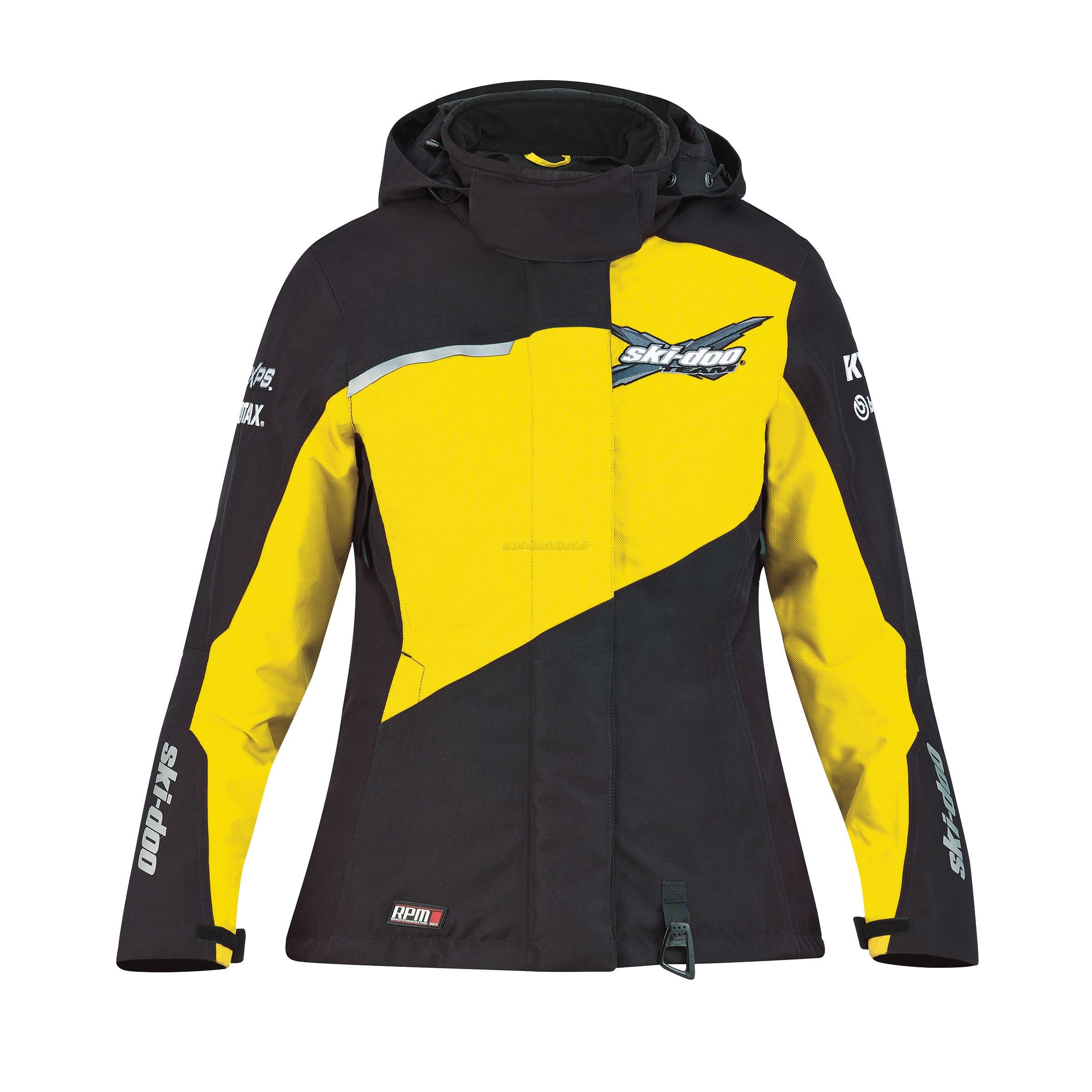 2018 Ladies SkiDoo XTeam Jacket Sunburst Yellow Team