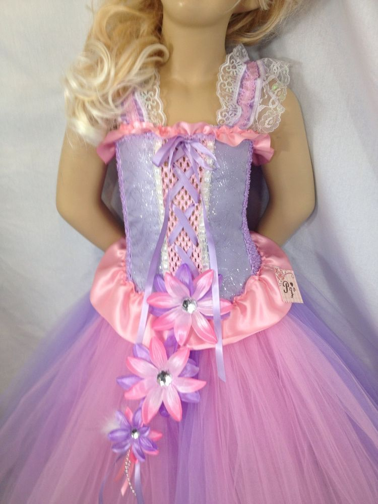 Disney's Rapunzal  inspired tutu dress pageant parties store photos  2T-age 10 #PjsDreams