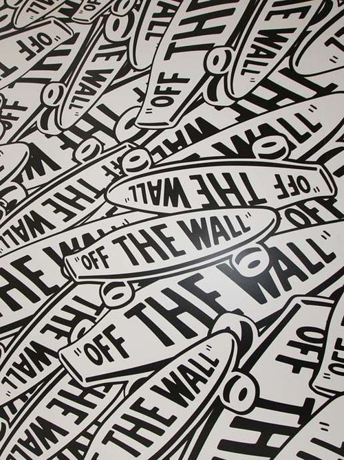 Ma Marque Preferee Vans Vans Off The Wall Wall Logo Off The Wall