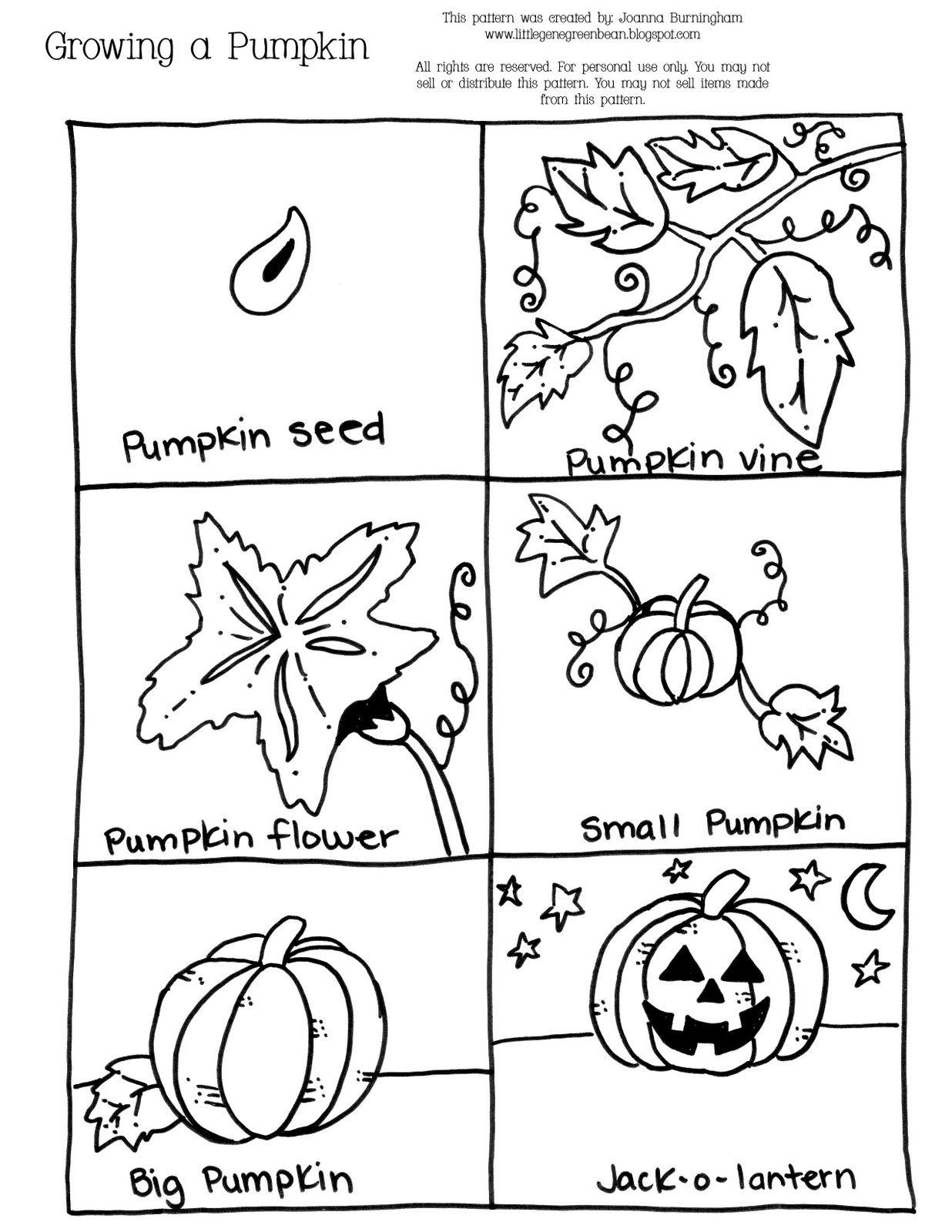 Kindergarten Pumpkin Sequencing With The Book Sequencing Worksheet ...