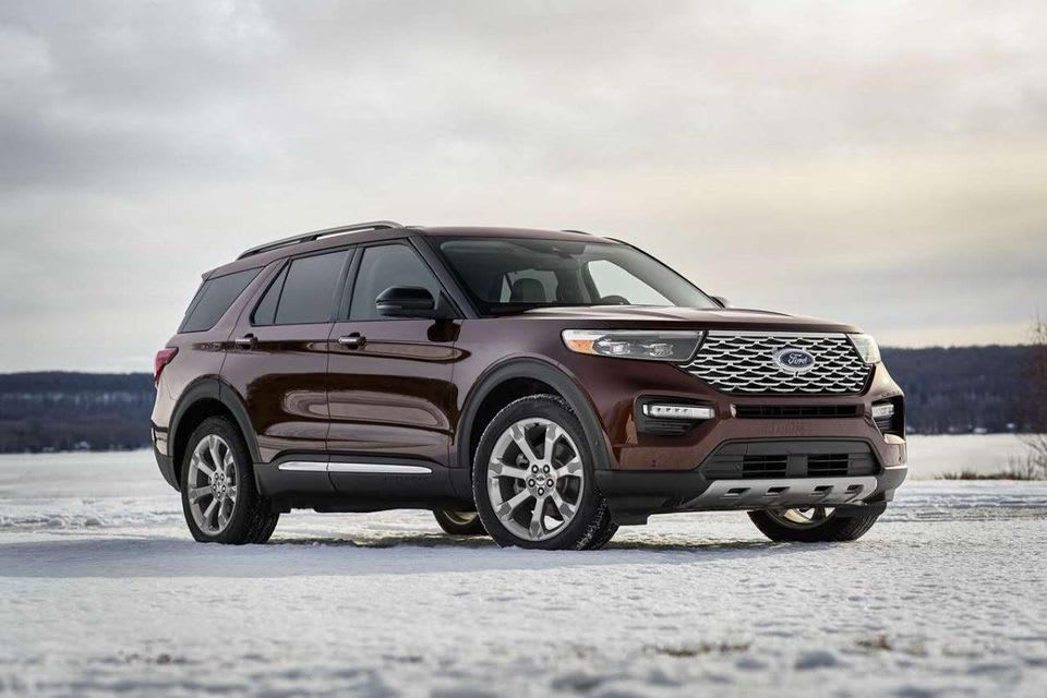 The Terrain Management System On The Ford Explorer And Lets You Shift On The Fly Into One Of Four Settings To Match The In 2020 Ford Explorer Ford Expedition Ford Suv