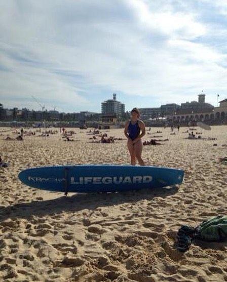 #lifeguard #moment #bondibeachsydney by lulu_tiani http://ift.tt/1KBxVYg