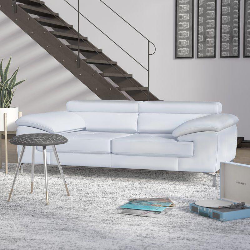 Twining Italian Leather Sofa Reviews Allmodern Italian Leather Sofa Best Leather Sofa Leather Living Room Furniture
