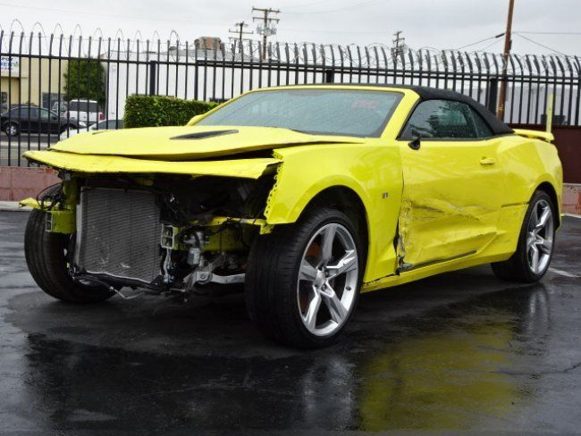 front damage 2017 chevrolet camaro convertible ss repairable wrecked sport cars for sale. Black Bedroom Furniture Sets. Home Design Ideas