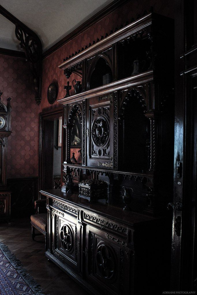 "Goth #haunted #mansion ~ ""sychrov_18""aderhine At Deviantart Mesmerizing Haunted Mansion Dining Room Design Inspiration"
