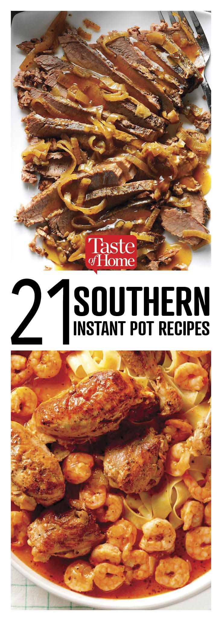 Photo of 21 Southern Instant Pot Recipes to Make Tonight