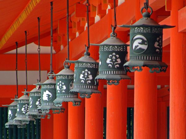 Love The Colour Lanterns At Heian Jingu Shinto Shrine In Kyoto Japan Shinto Japan Holidays Kyoto Japan