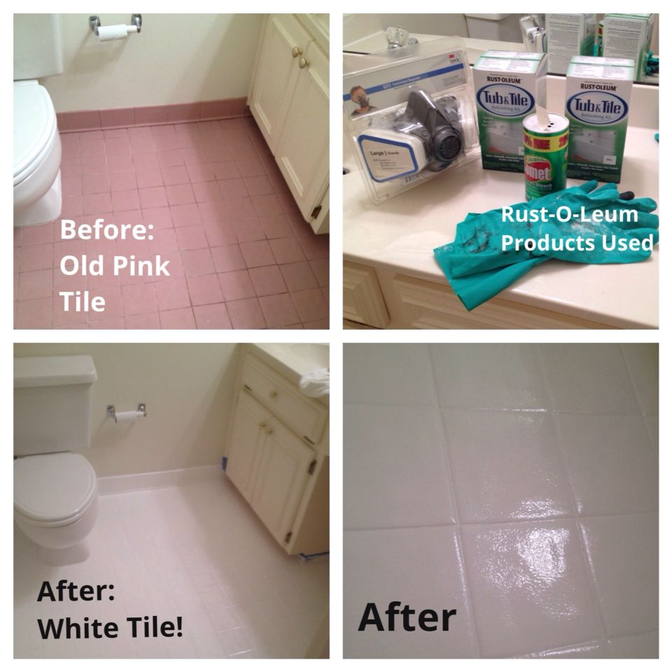 Rustoleum Tub And Tile Paint Kit Great Product Easy But Somewhat