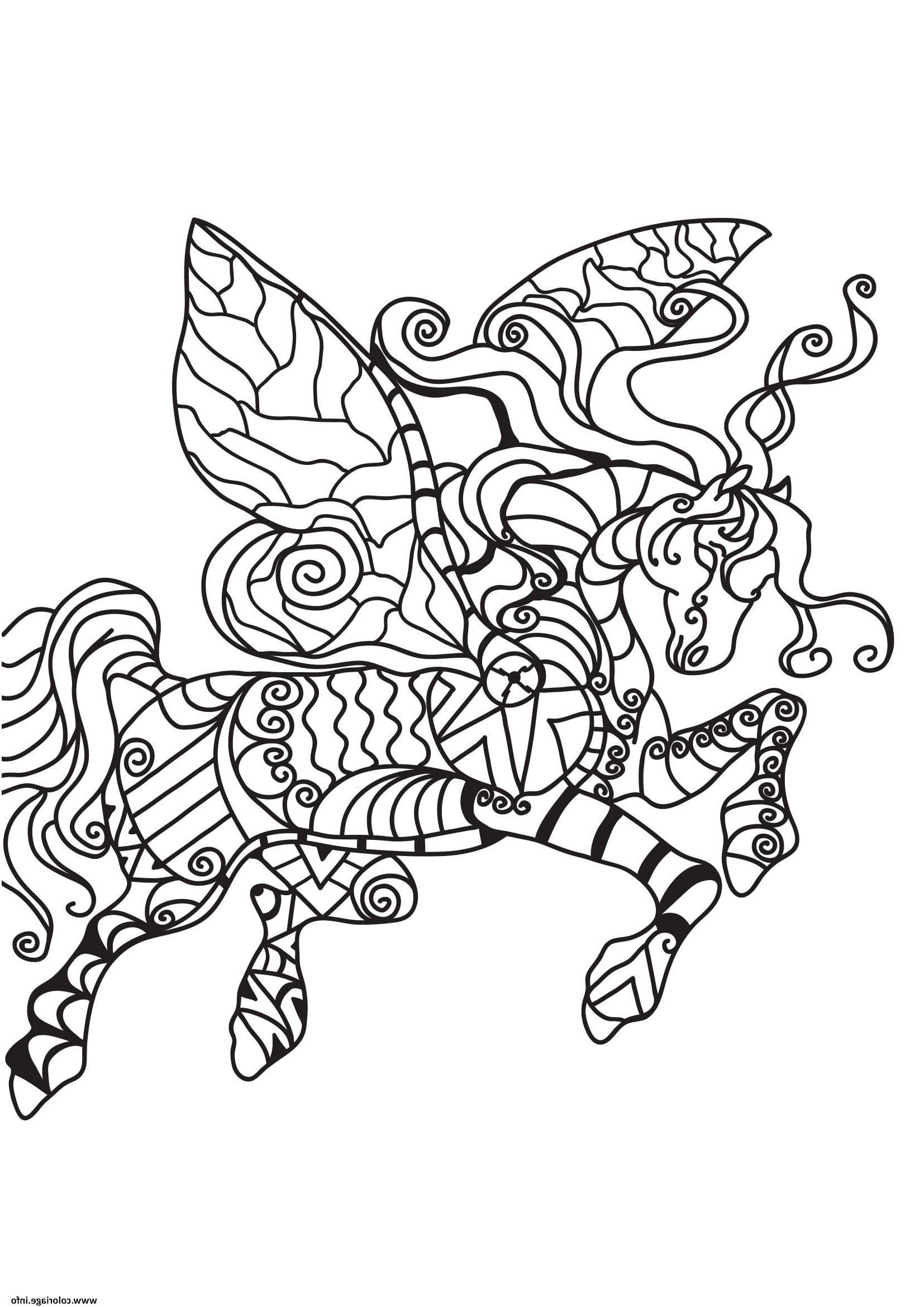 Coloriage Sirene Licorne djdareve en 2020 | Coloriage ...