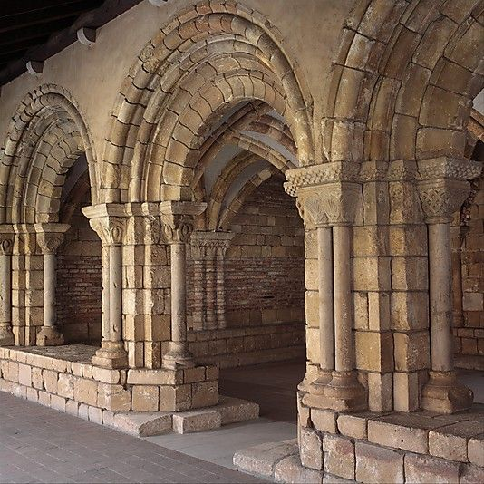 Chapter House From Notre Dame De Pontaut 12th Century