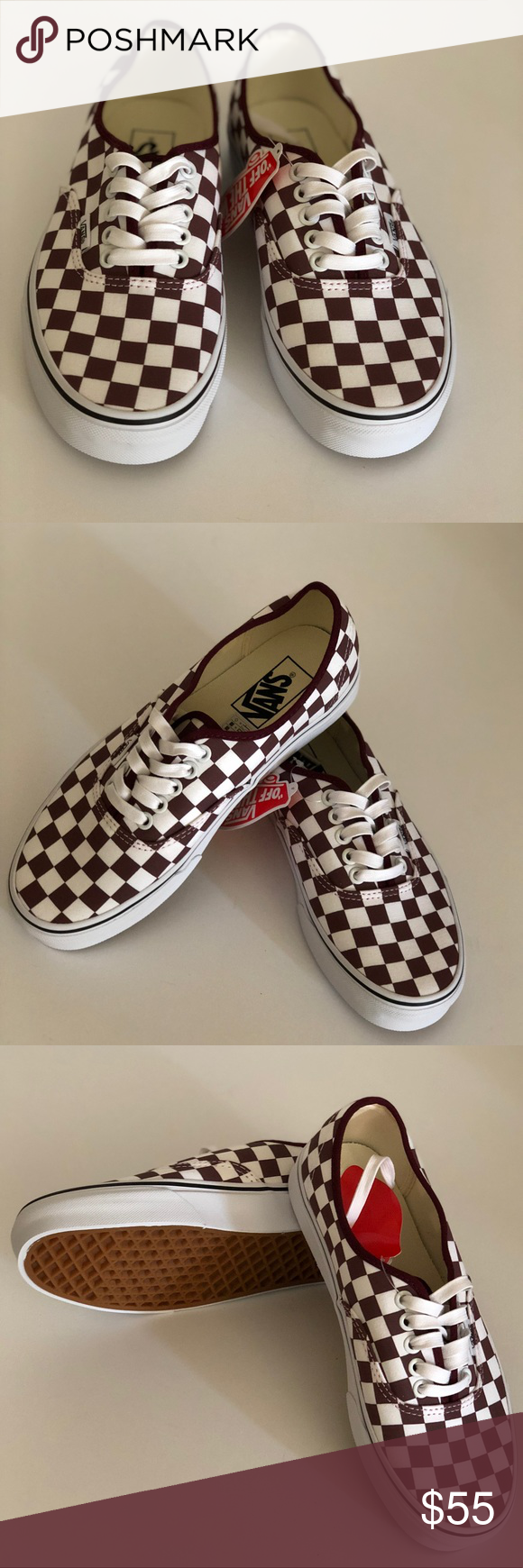 037396a1df Vans Authentic Checkerboard Port Royale Vans Authentic Checkerboard Port  Royale Condition  New with box. Size  Women s 8