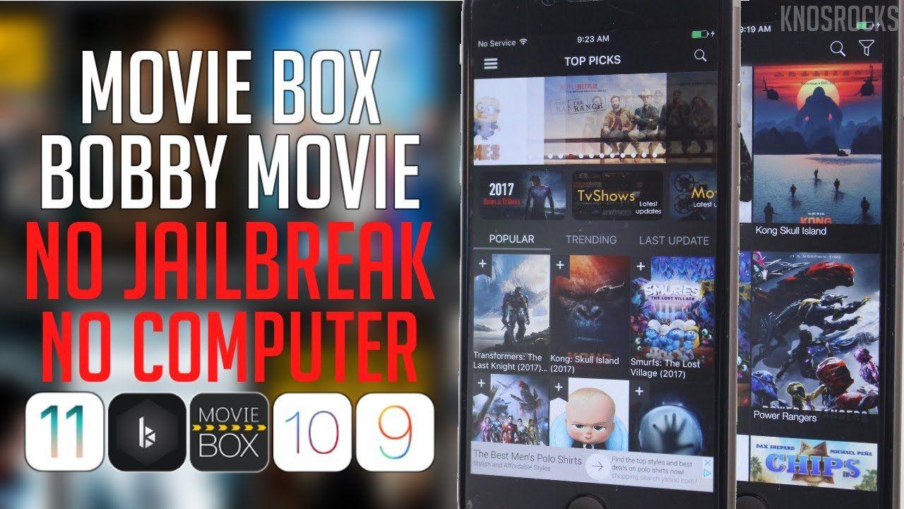 How To Get Movie Box & Bobby HD iOS 11 / 10 3 2 - 10 / 9 Free No