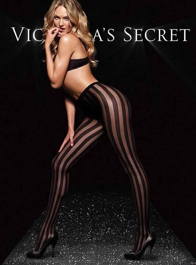 02094c48a68 Candice Swanepoel Silk Stockings