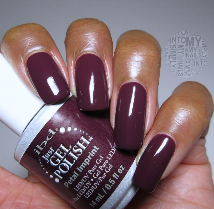 Simply Into My NAILS: Mini Manicures ~ IBD Just Gel Petal Imprint ...