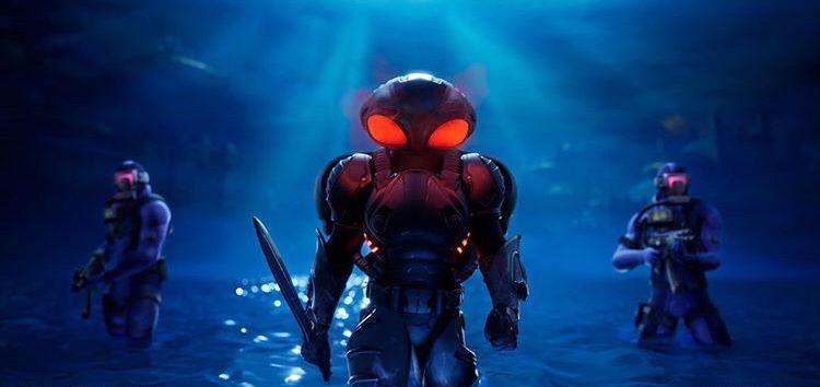 Pin By P On Black Manta Black Manta Armor Concept Marvel Art