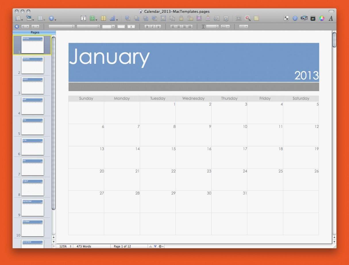 Pages Calendar Template Mac Unique Best Calendar Template Pages Mac Calendar Printable Te Free Business Card Templates Calendar Template Business Card Template