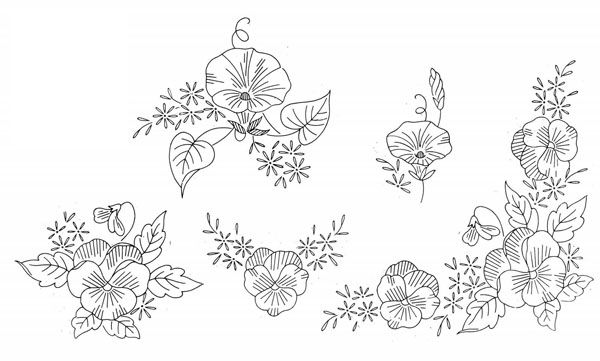 Hand Embroidery Designspatterns 6g Embroidery Patterns