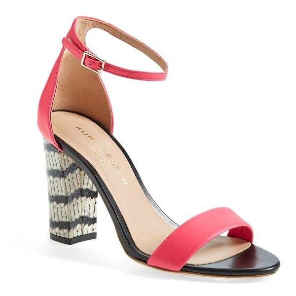 Womens Sandals | KG Kurt Geiger Nude Flow Block Heel