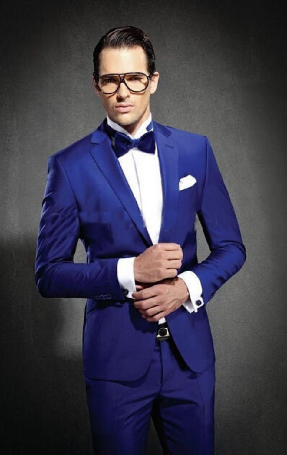 Cheap prom tuxedo, Buy Quality slim fit suit directly from China slim fit  business suit Suppliers: 2015 Business Men Slim Fit Suits Groom Tuxedos  Royal Blue ...