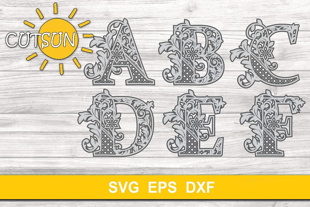 Pin on 3D Layered SVG Designs 3D Mandala Zentangle SVG
