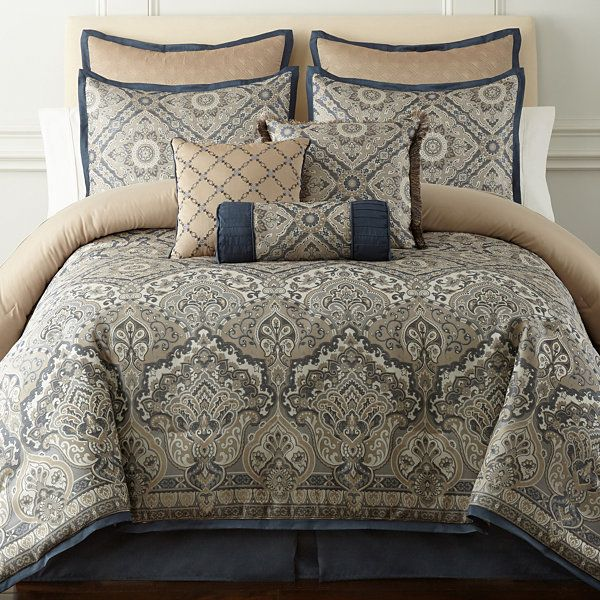 Home Expressions Newport 7 Pc Comforter Set Jcpenney