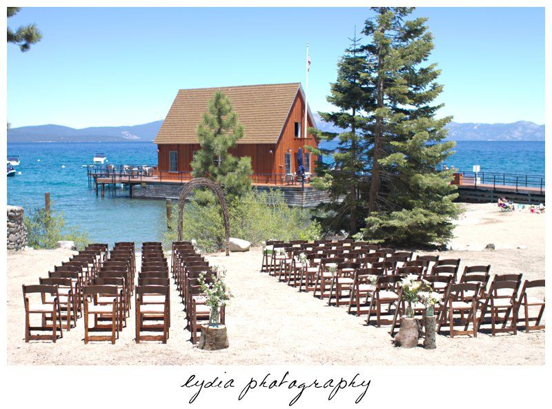 Chambers Landing Lake Tahoe Wedding Cute Place On The West S