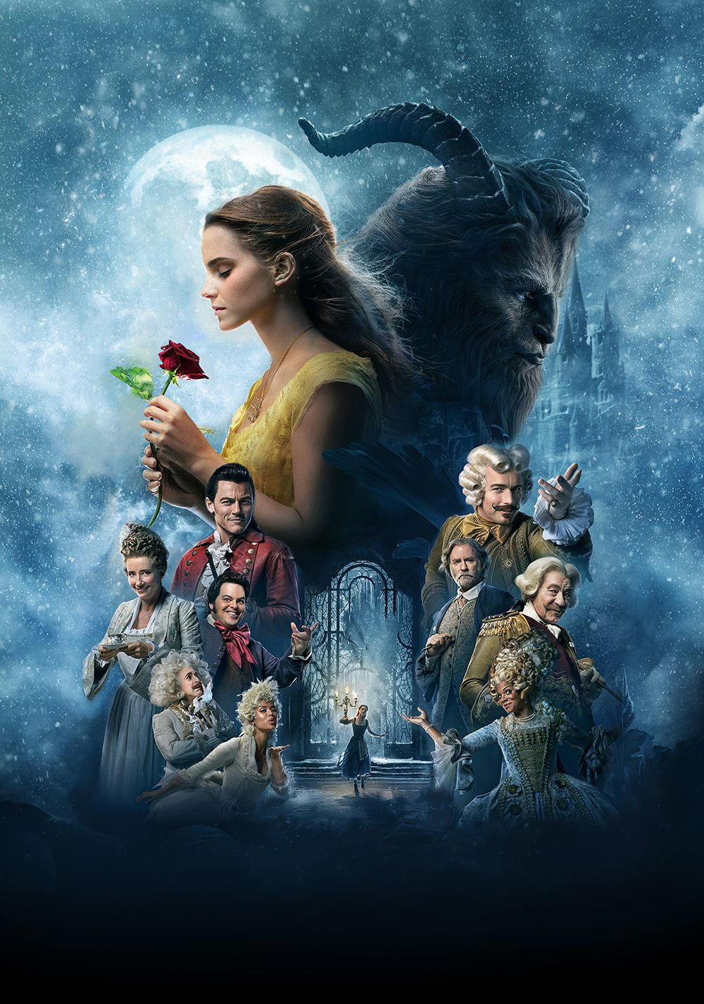 Beauty And The Beast Poster Beauty And The Beast Movie The
