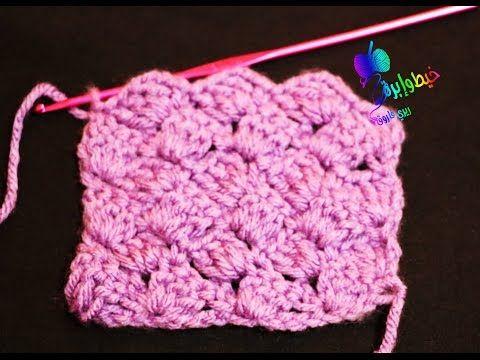 كروشية غرزة المربعات المائلة لعمل إسكارف بطانية للبيبى شال مستطيل طاقية بلوفر قناة خيط وإبرة Youtube Crochet Hats Crochet Crochet Scarf