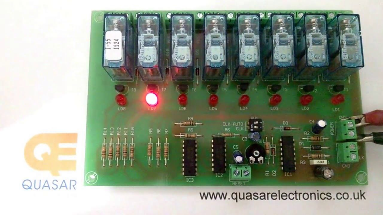 Cebek I 55 Quasar Code Ci055 8 Channel Sequential Controller Relay M Manual Mode Relay Sequential