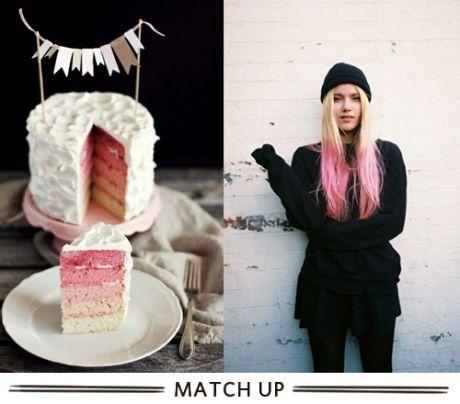 ombre cake idea!