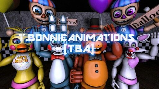 T.bonnie animations poster.