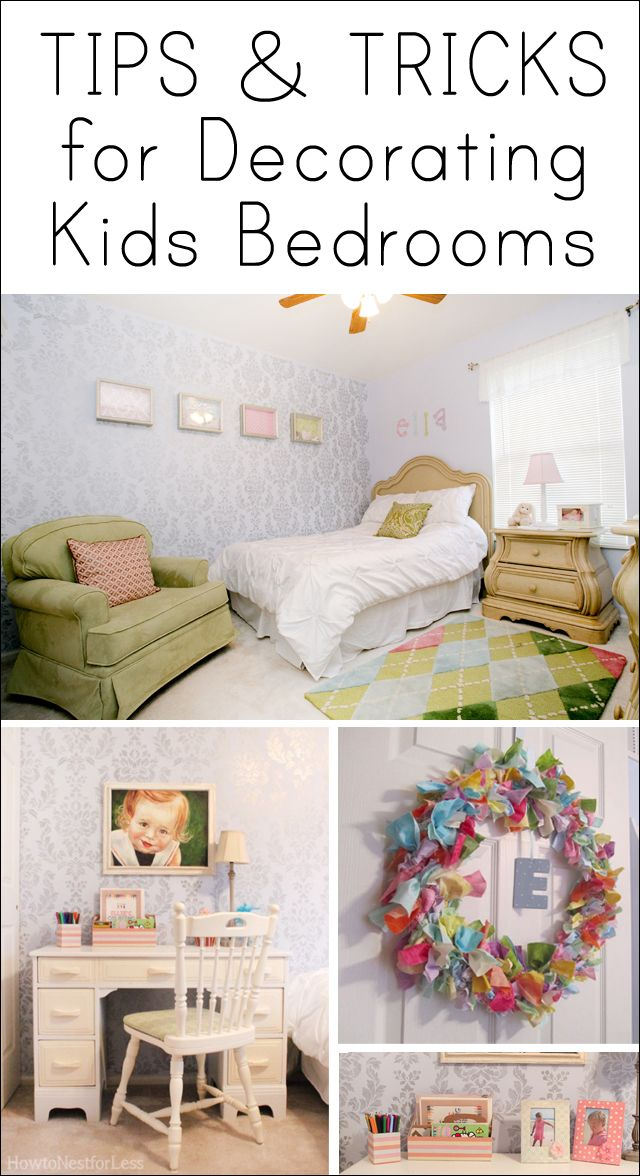 Tips for Decorating Kids Bedrooms | Decorating, Bedrooms and Room