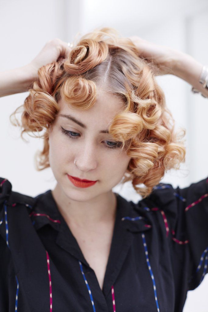This Easy DIY Proves Anyone Can Do Pin Curls Like a Pro