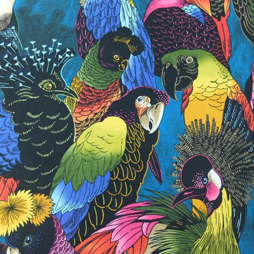 Birds of a Feather by Alexander Henry – Fabrics Galore we stock this lovely fabric on our online shop
