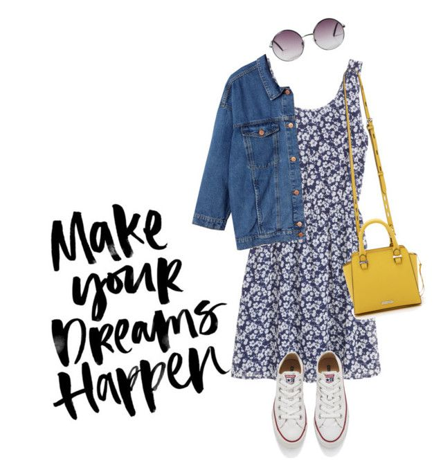 """""""To all my beautiful followers :) """" by waila-3 ❤ liked on Polyvore featuring Rebecca Minkoff, Monki and Converse"""
