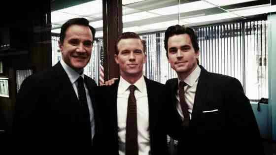 Peter With Neal And His New Handler Matt Bomer White Collar White Collar Season 5 Matt Bomer