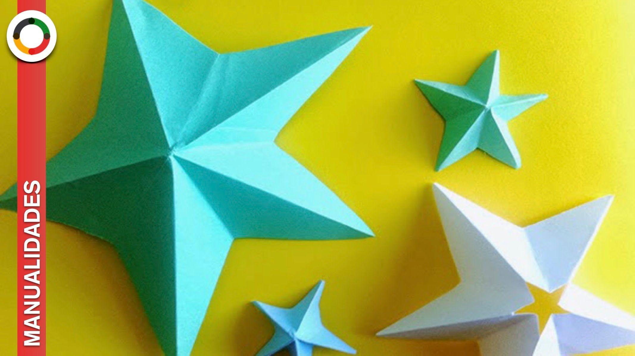 11 Como se hace una estrella de papel