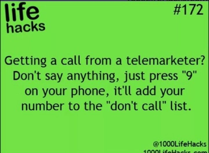 telemarketing problems