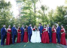 royal blue suit, blue groomsmen, royal blue and red wedding, color ...