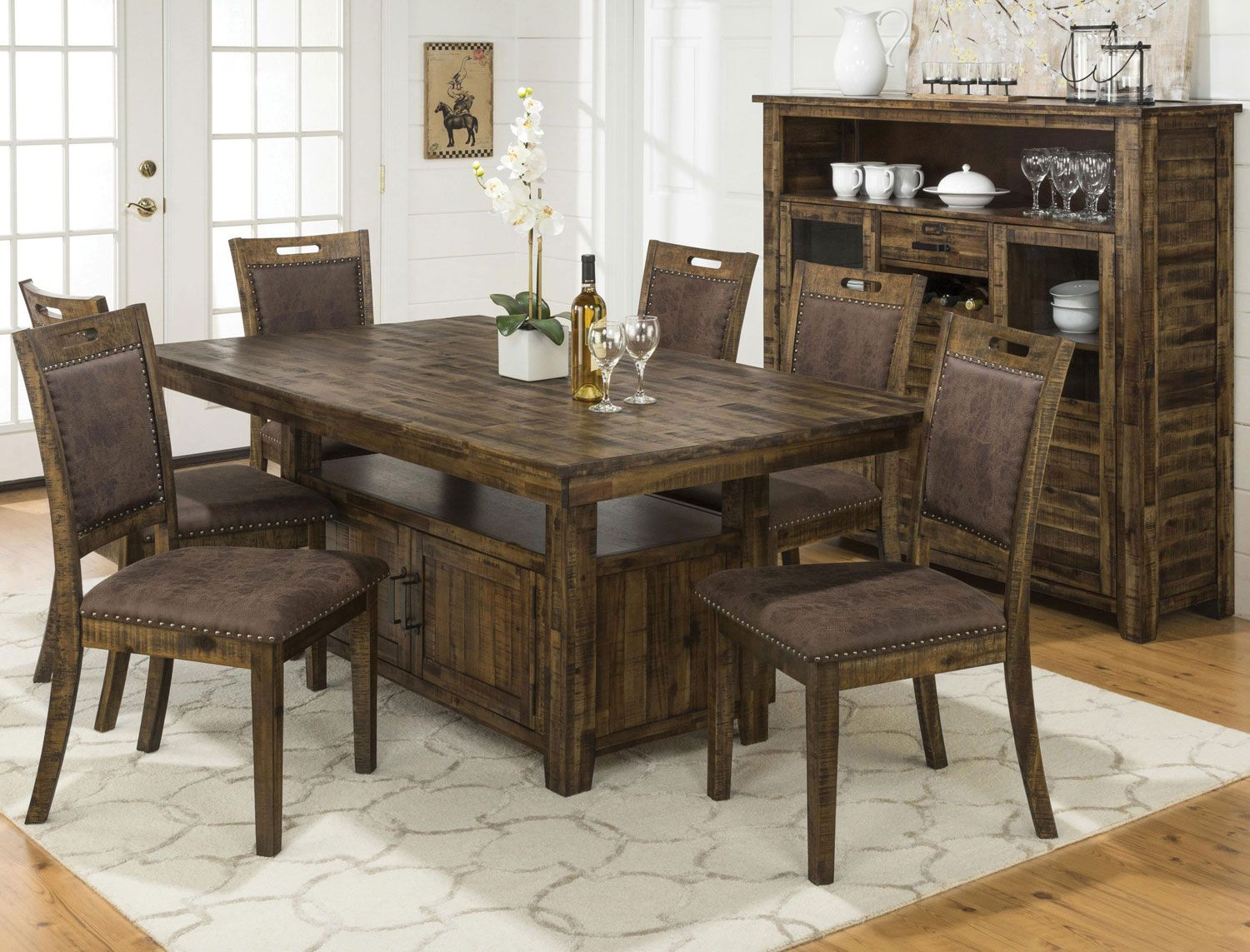Cool Adjustable Height Kitchen Table Solid Wood Dining Chairs