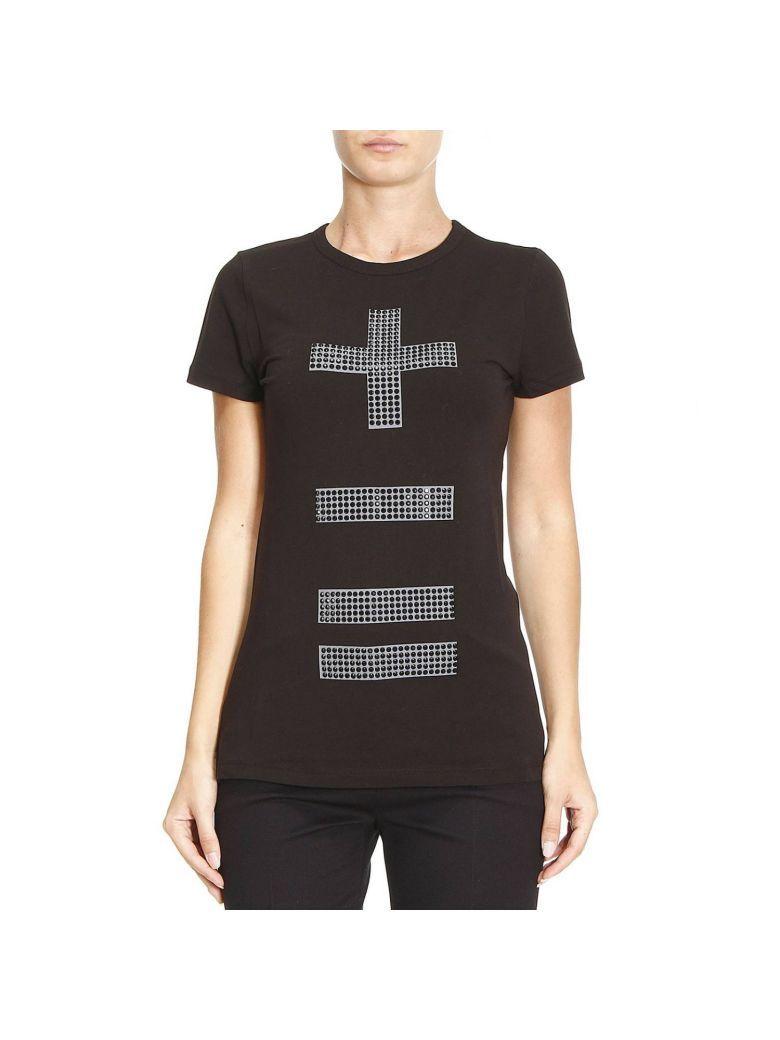 T Shirt T Shirt Women Moschino Love In Black Womens Shirts Shirts Moschino