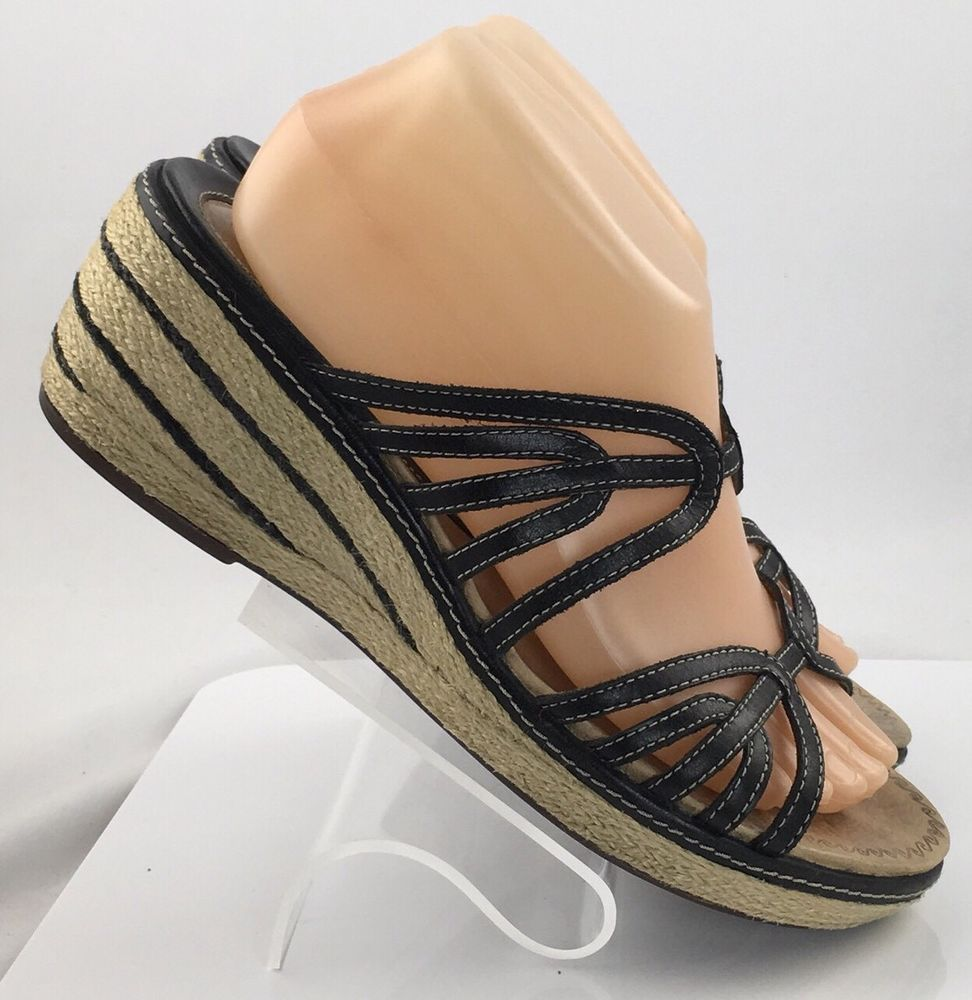 Discover ideas about Leather Wedge Sandals