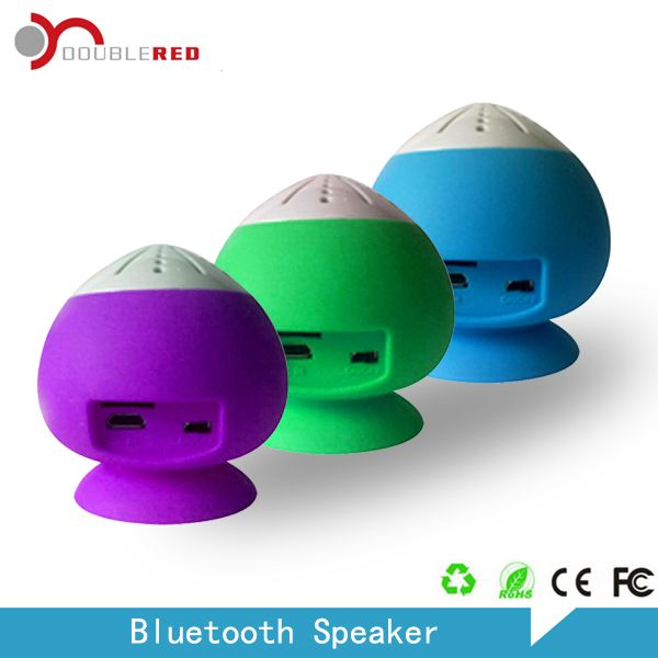 Peach Appearence Bluetooth Speaker With Sucker Www Dbl Red Cn For