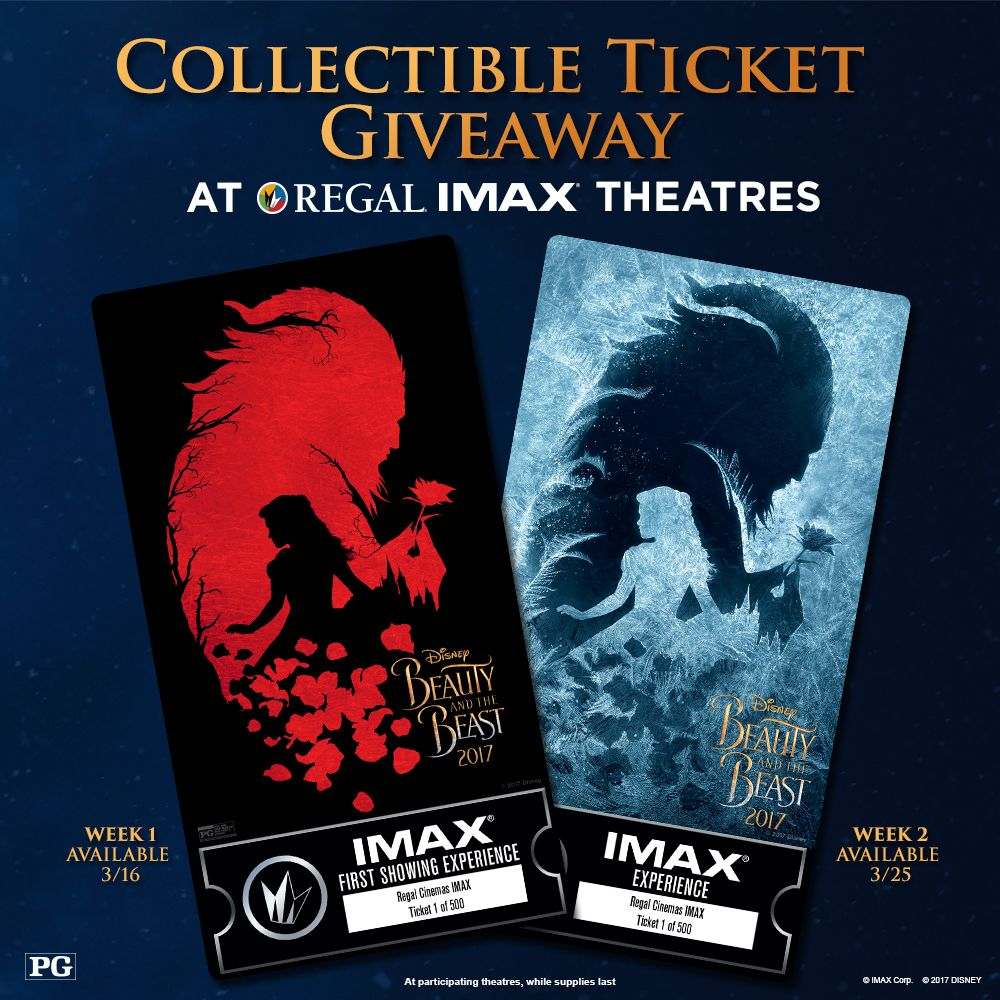 see beauty and the beast in imax at regal cinemas on and see beauty and the beast in imax at regal cinemas on 3 16 and again