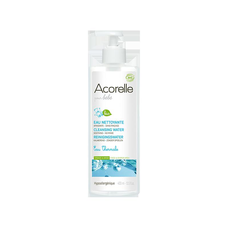 L eau nettoyante Acorelle bio pour bébé est composée d une sélection ... af5685612c0