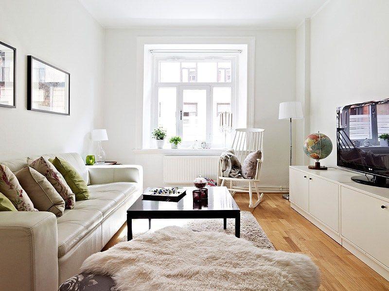 Un piso peque o en colores neutros minis blog y deco - Diseno de interiores pisos pequenos ...