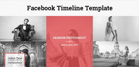Check out Facebook Timeline Template by PremiumCoding on Creative - advertising timeline template
