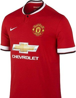 Manchester United s new home shirts were accidentally sold at half price  this week e8c8aae5a