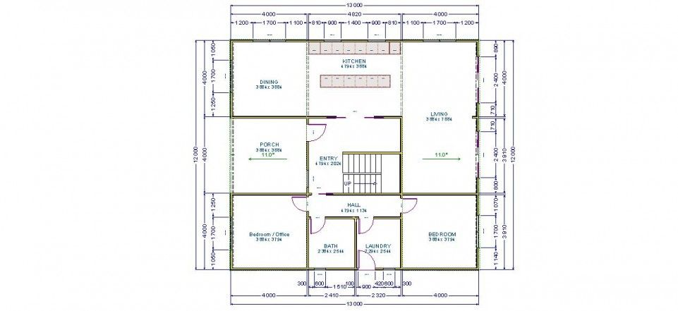 american barn house floor plans