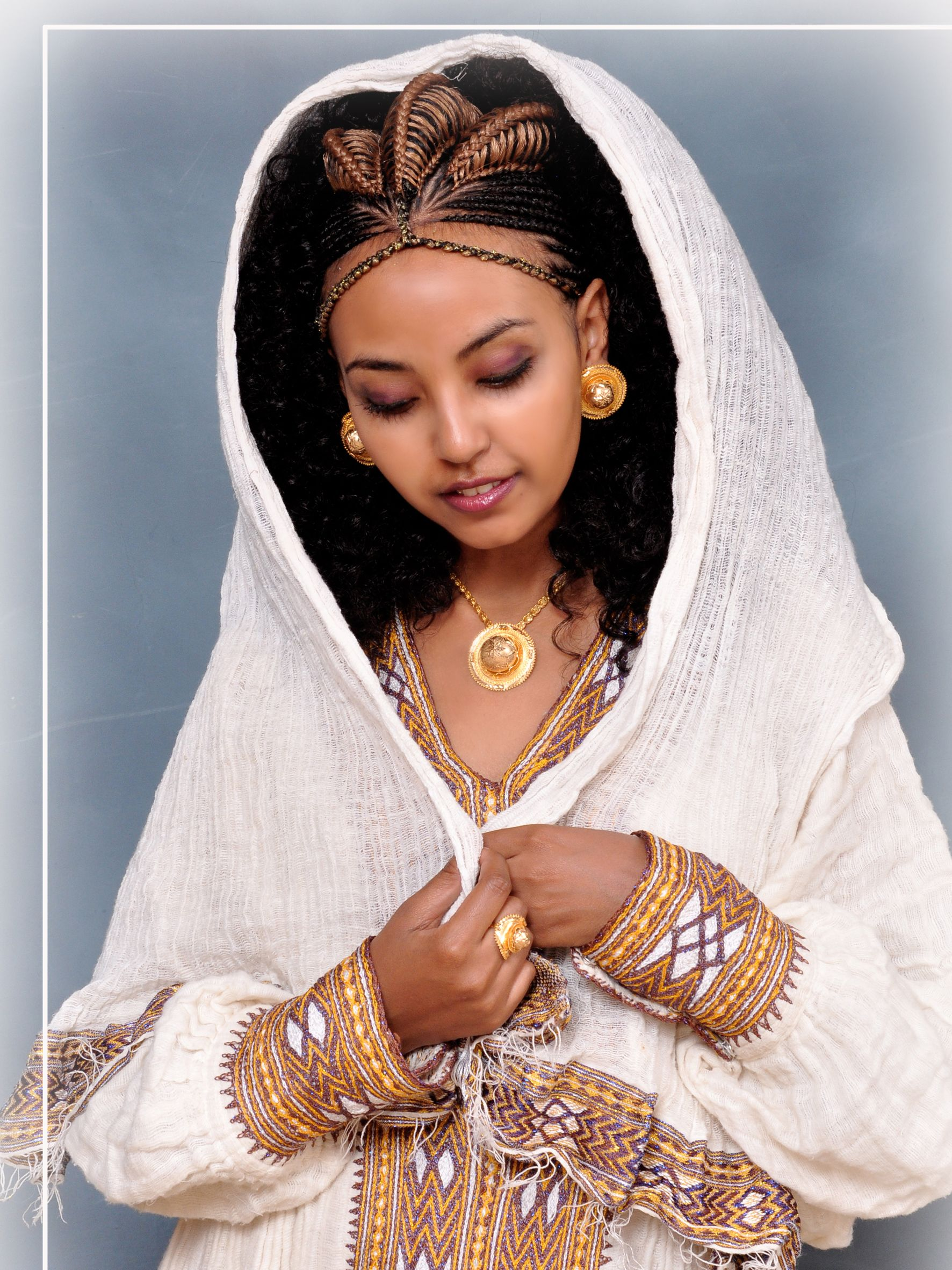 Pin by Ruhama Chernet on Habesha Bride | Pinterest ...